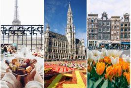 Fransa-Belçika-Hollandiya Yeni il